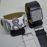 Armband für XL-Buchstaben/Motive (34 mm), Kunststoff, 3 cm breit ohne Buchstaben/Motive