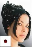 Haarpiercing - Swarovski Kristalle - ROT
